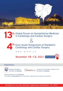 13th Global Forum on Humanitarian Medicine in Cardiology and Cardiac Surgery & 4th Euro-Asian Symposium of Paediatric Cardiology and Cardiac Surgery